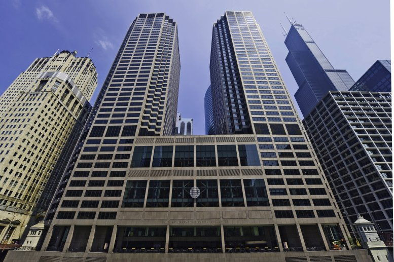 Chicago Mercantile Exchange Center, 30 S Wacker Dr, 22nd Fl, Downtown Office Space - Chicago