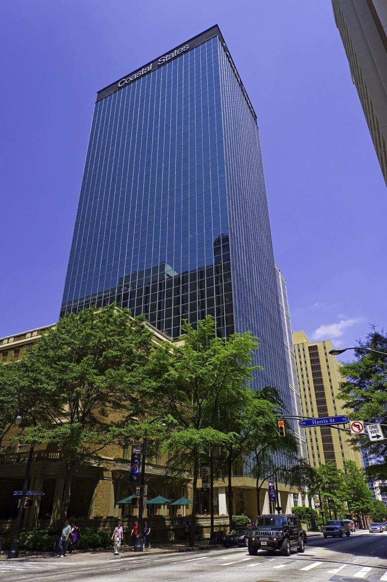 Coastal States Building, 260 W Peachtree St NW, Peachtree Center, Downtown Office Space - Atlanta