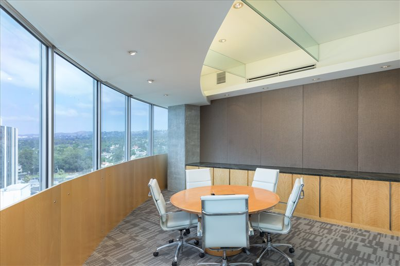 This is a photo of the office space available to rent on 9701 Wilshire Blvd