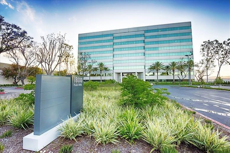 Plaza Tower available for companies in Cerritos