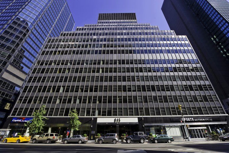 Western Publishing Building, 845 3rd Ave, Turtle Bay, Midtown, Manhattan Office Space - NYC
