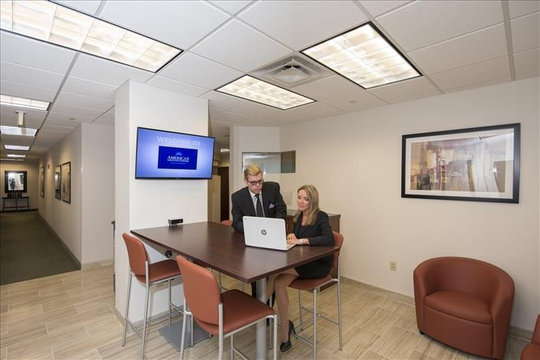 This is a photo of the office space available to rent on 150 Radnor Chester Road, Suite F 200, Radnor Financial Building