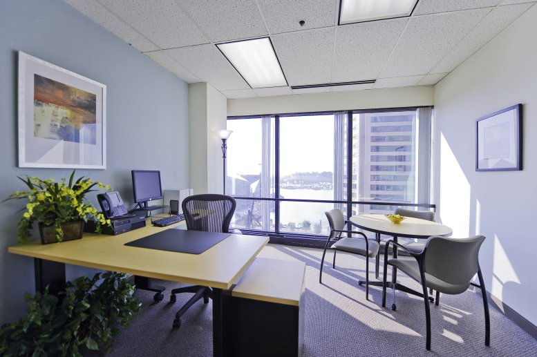 Inner Harbour Centre, Suite 800, 400 East Pratt Street Office for Rent in Baltimore