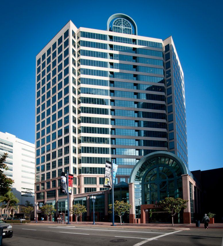 501 West Broadway, Downtown Office Space - San Diego