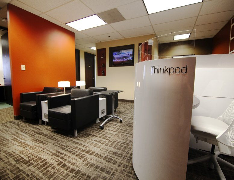 This is a photo of the office space available to rent on The Embassy, 1431 Greenway Dr, Las Colinas