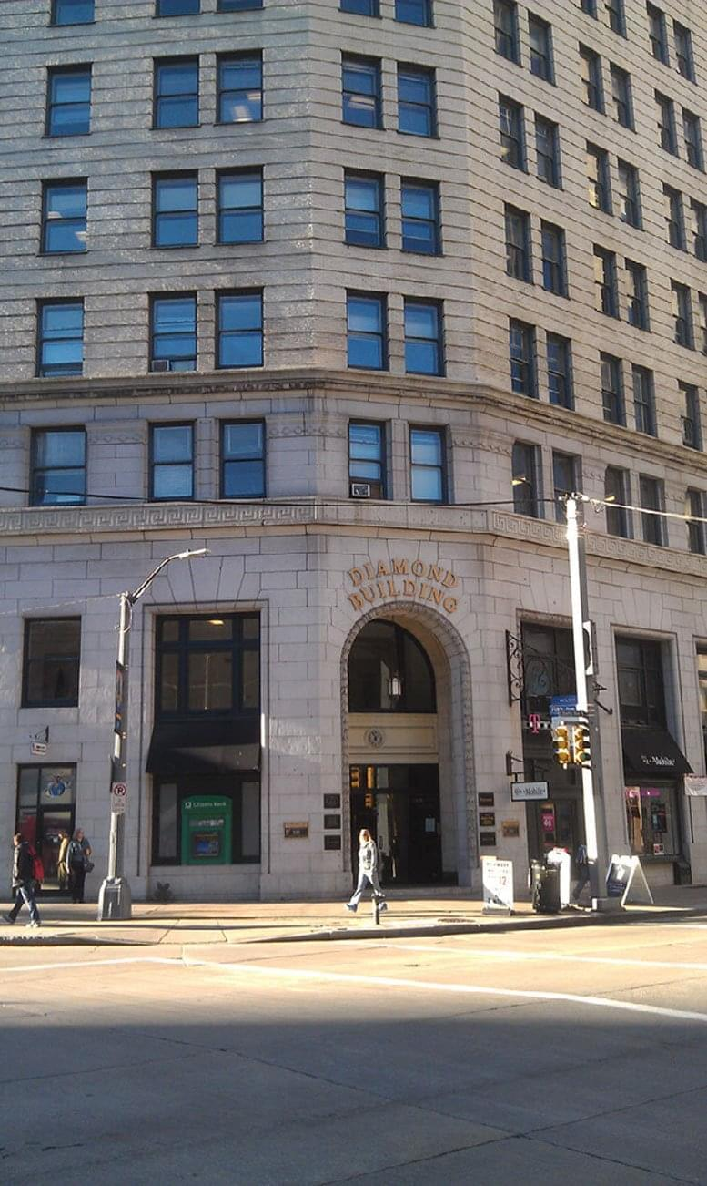 Diamond Building, 100 Fifth Ave, Downtown Office for Rent in Pittsburgh