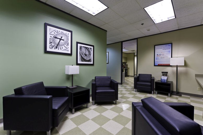 This is a photo of the office space available to rent on Palisades II, 2435 N Central Expy