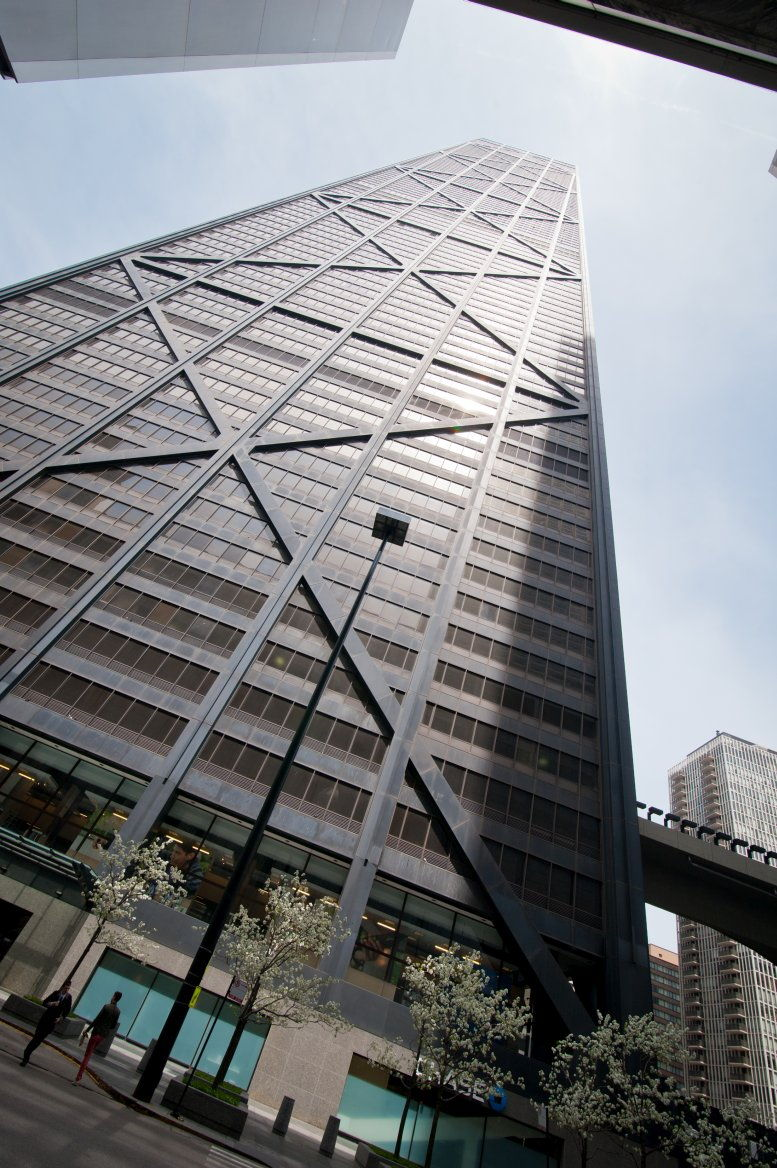 John Hancock Center available for companies in Chicago