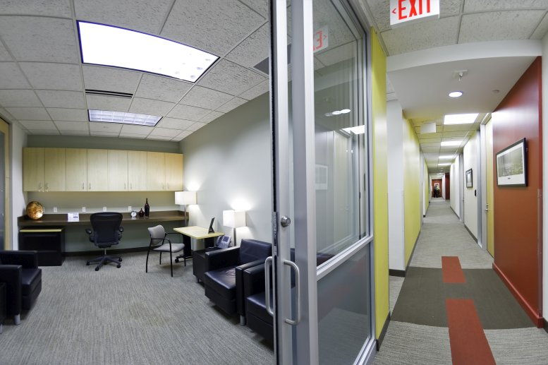 This is a photo of the office space available to rent on 100 Tower, Fifth Street Towers, 100 S 5th St, Downtown