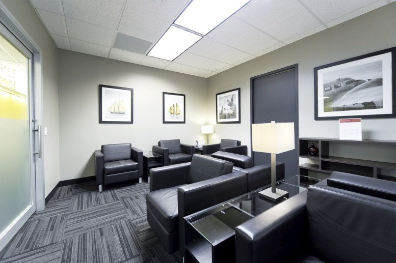 This is a photo of the office space available to rent on 1 Bridge Plaza, N Central Rd, Linwood