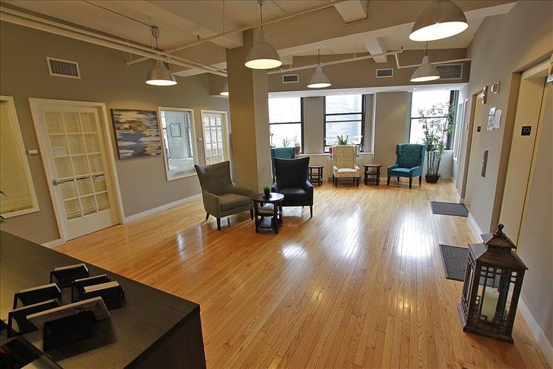 This is a photo of the office space available to rent on 1115 Broadway, Flatiron, Manhattan