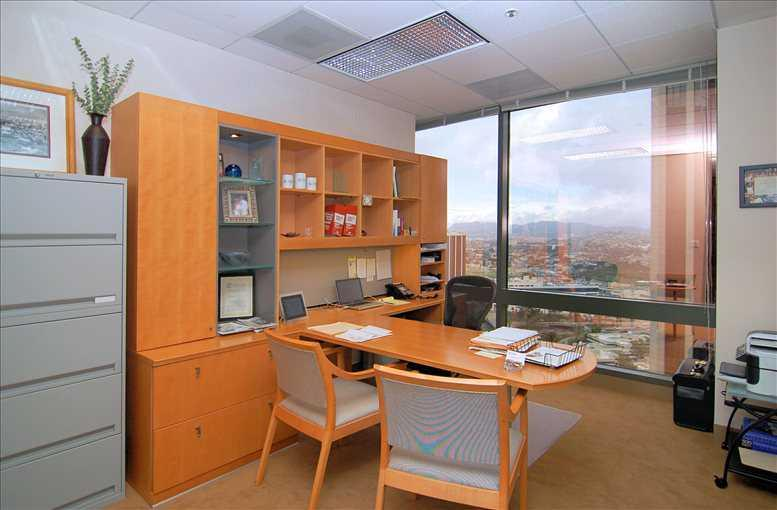 This is a photo of the office space available to rent on Wells Fargo Center South Tower, 355 S Grand Ave, Bunker Hill
