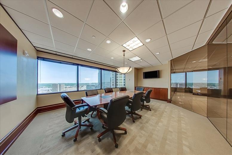 This is a photo of the office space available to rent on Columbia Plaza, 250 East 5th St, 15th Fl