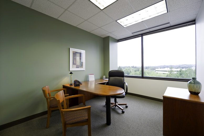 Lincoln Center, 10260 SW Greenburg Rd, 4th Fl, Bradley Corner Office for Rent in Tigard