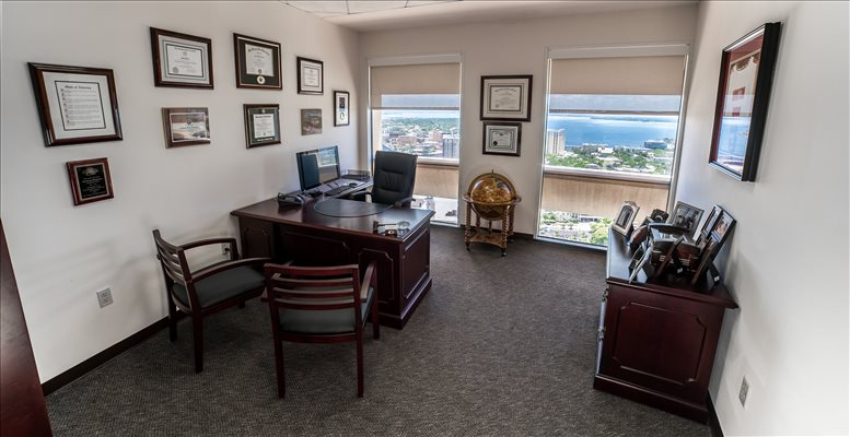 Photo of Office Space available to rent on 400 N Ashley Dr, 26th Fl, Tampa