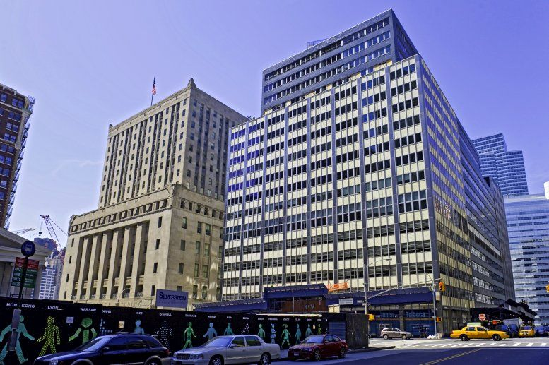 100 Church St, Financial District, Downtown, Manhattan Office Space - NYC