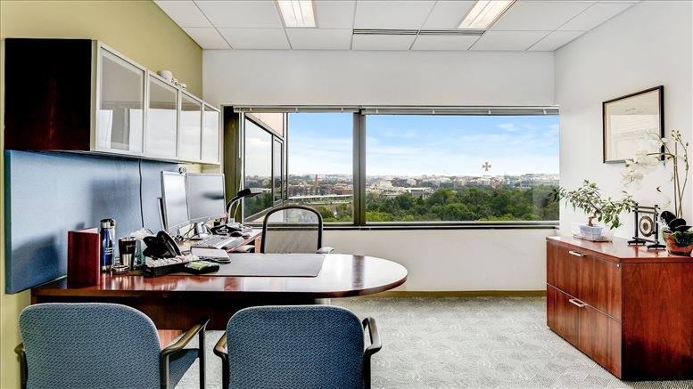 This is a photo of the office space available to rent on 1001 N. 19th Street, Rosslyn