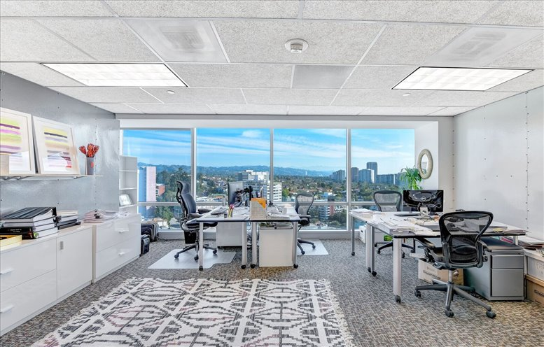 This is a photo of the office space available to rent on 1100 Glendon Ave, 17th Fl, Westwood Village