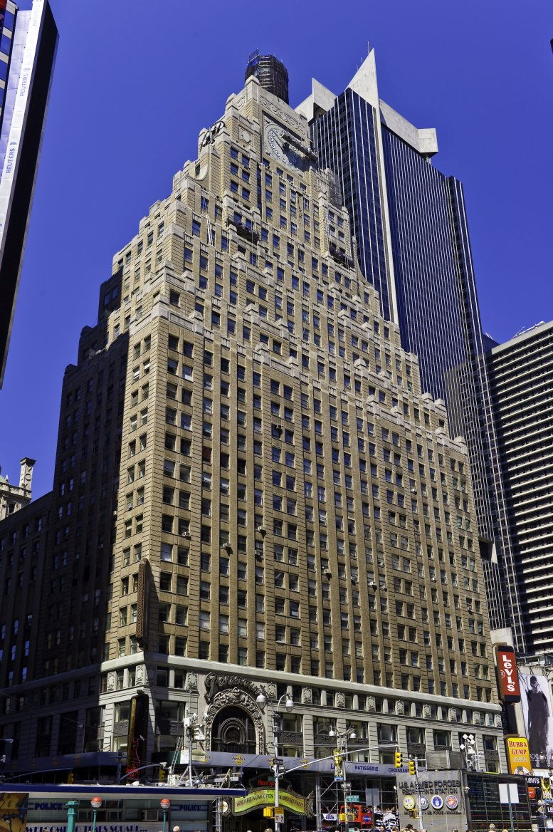 Paramount Building, 1501 Broadway, 12th Fl, Times Square, Theater District, Midtown West, Manhattan Office Space - NYC