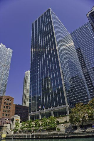 Photo of Office Space on 321 North Clark @ Riverfront Plaza, River North Chicago Loop