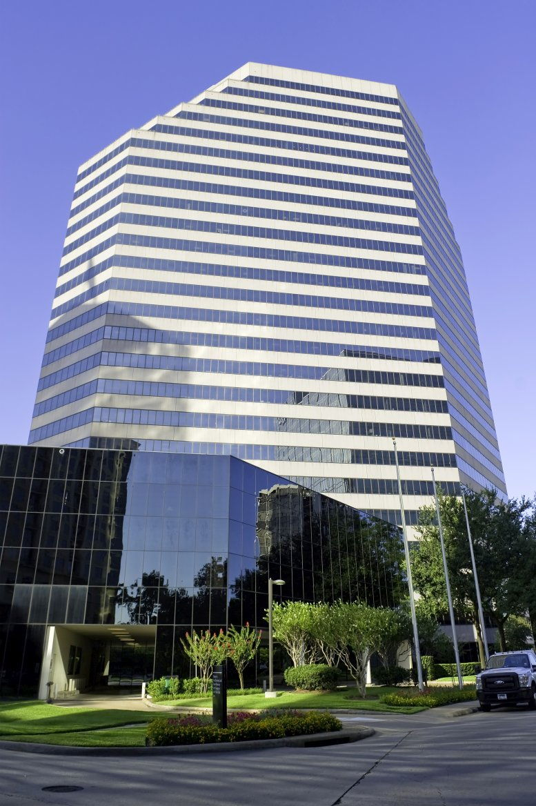Class A Office Space For Rent Houston One Riverway 17th Fl Views