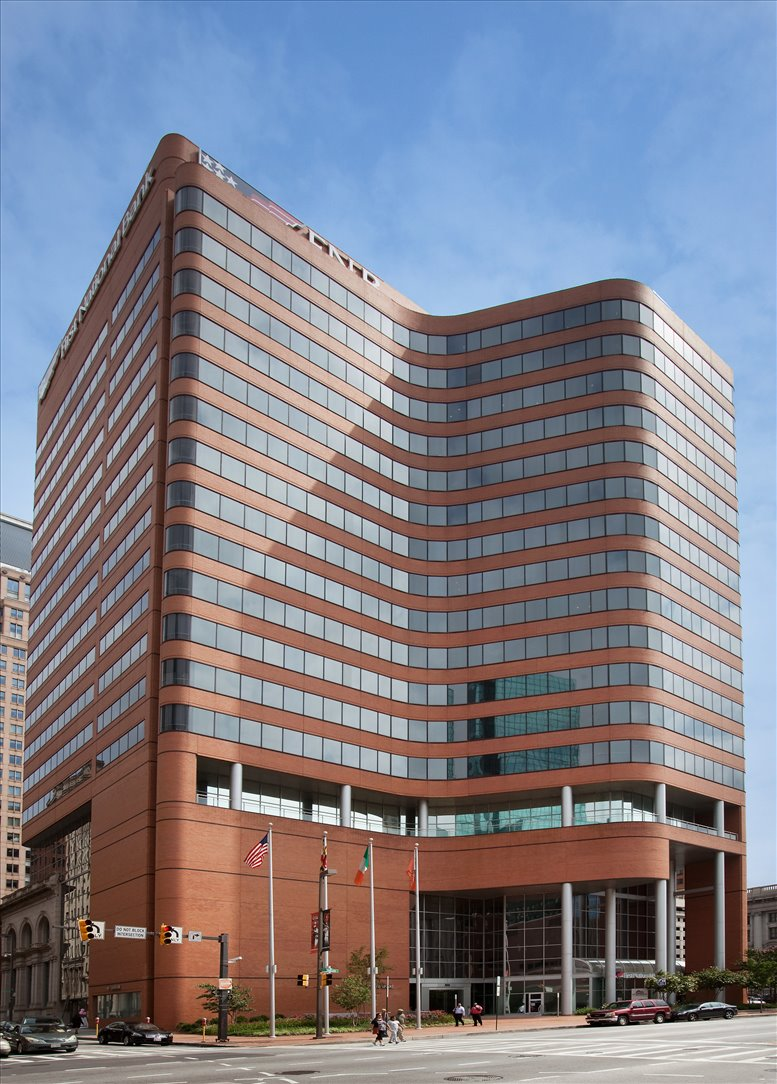FNB Building available for companies in Baltimore