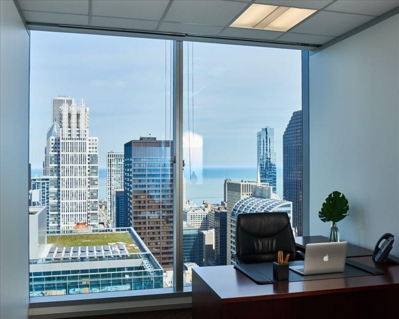 155 North Wacker, Chicago Loop Office for Rent in Chicago