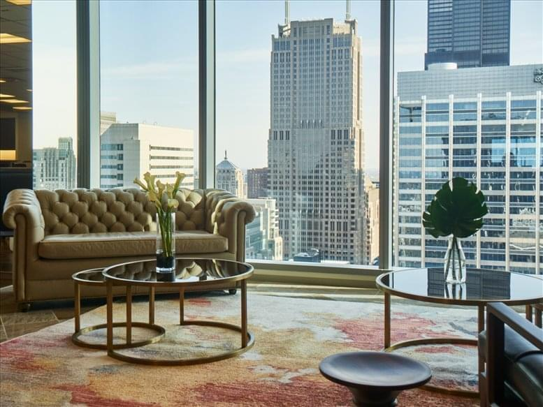 Office for Rent on 155 North Wacker, Chicago Loop Chicago