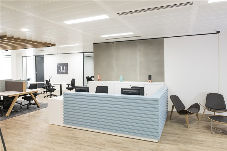 100 West Road, Suite 300 Office Images
