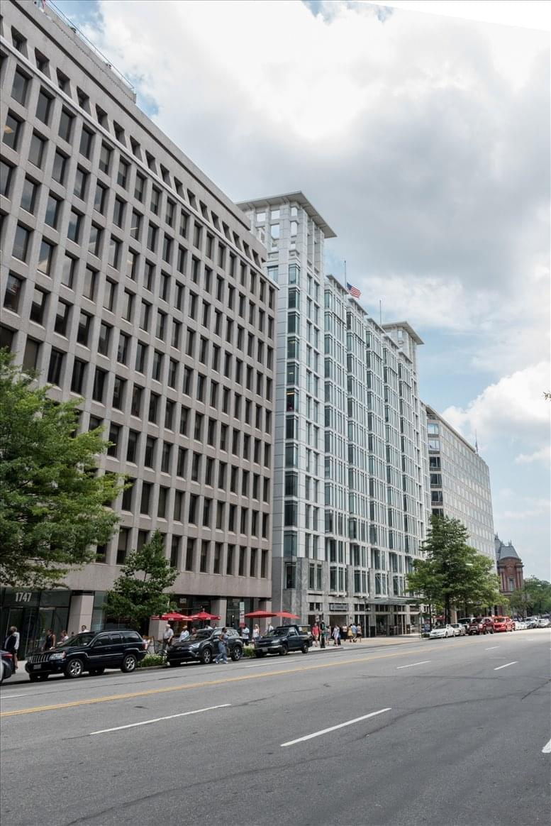 1717 Pennsylvania Avenue Northwest Office Space - Washington DC