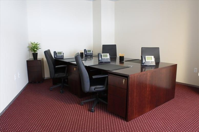 This is a photo of the office space available to rent on One International Place, Financial District