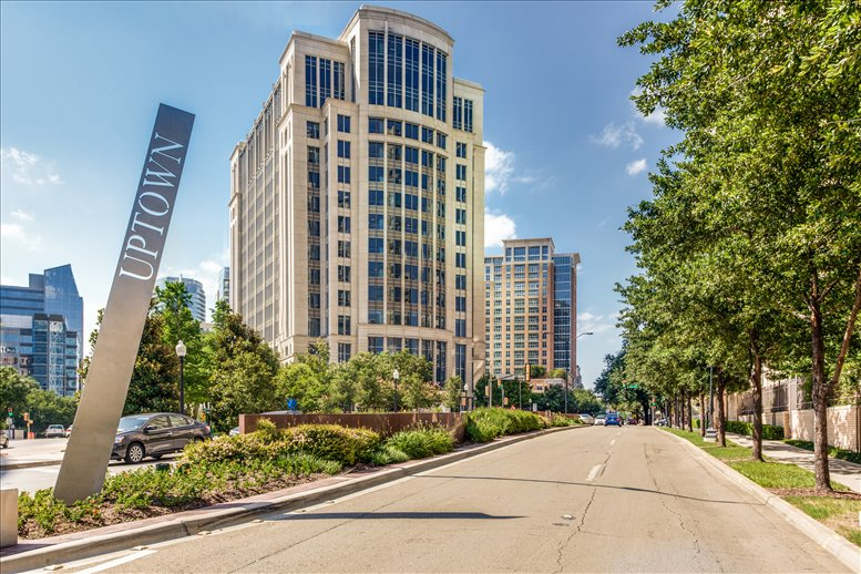 Rosewood Court, 2101 Cedar Springs Road, Uptown Office Space - Dallas