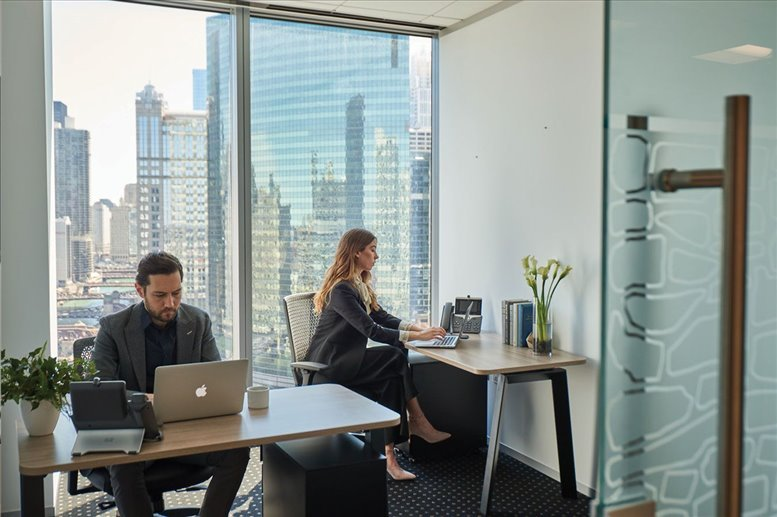This is a photo of the office space available to rent on Seagram Building, 375 Park Avenue, Midtown East