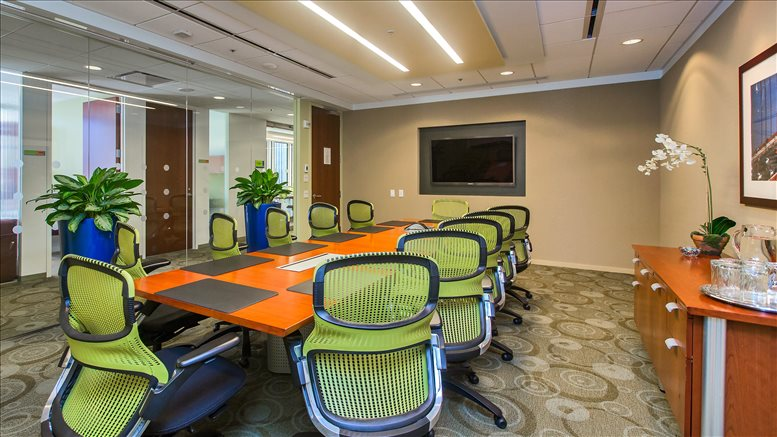 This is a photo of the office space available to rent on Four Embarcadero Center, 55 Clay St