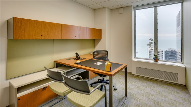 Aon Center, 200 E Randolph St, Chicago Loop Office for Rent in Chicago