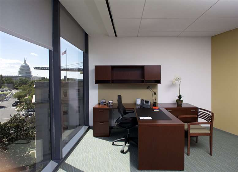 This is a photo of the office space available to rent on America's Square, 300 New Jersey Ave NW, 9th Fl