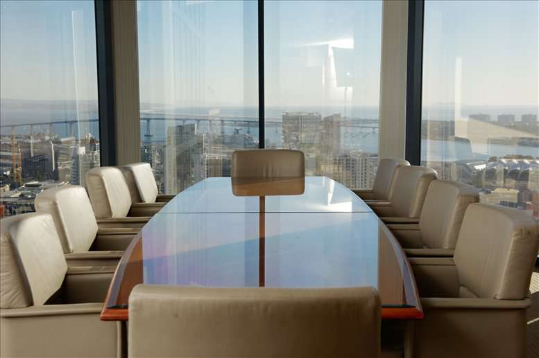 Symphony Towers Suite 3300, 750 B Street Office for Rent in San Diego