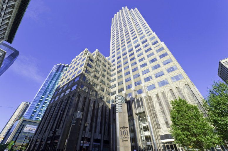 Merrill Lynch Building, 101 Hudson Street, 21st Fl, Exchange Place, Waterfront Office Space - Jersey City