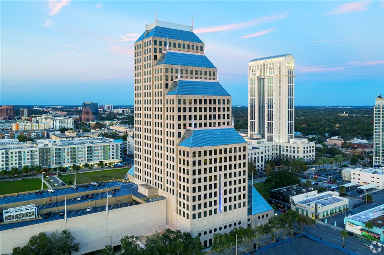 Bank of America Center, 23rd Fl, 390 N Orange Ave Office Space - Orlando