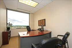 This is a photo of the office space available to rent on The Plaza Buildings, 10900 Northeast 8th Street