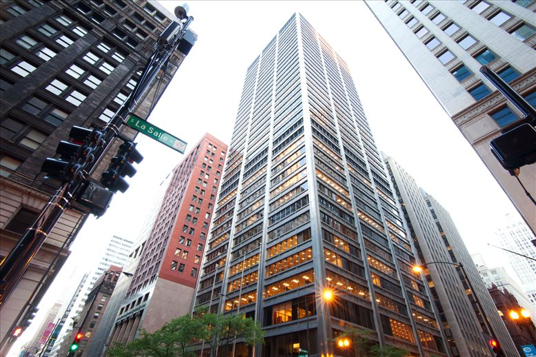 Harris Bank Addition II, 26th Fl, 115 S LaSalle St Office for Rent in Chicago