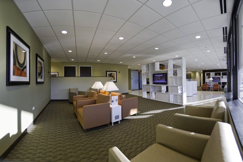 This is a photo of the office space available to rent on Landmark of Lake Forest, 100 S Saunders Rd, Suite 150