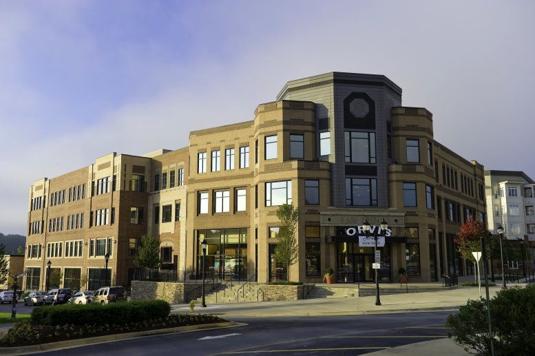 Biltmore Park Town Square available for companies in Asheville