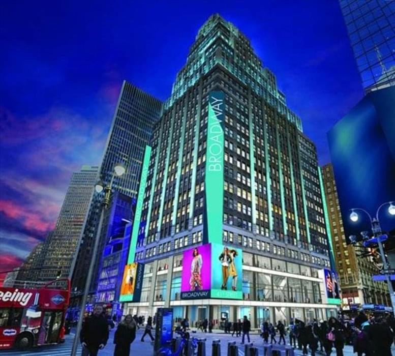 1441 Broadway, Times Square, Theater District, Midtown West, Manhattan Office Space - NYC