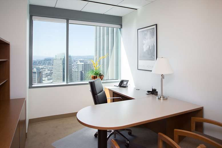 This is a photo of the office space available to rent on One Sansome St, Financial District