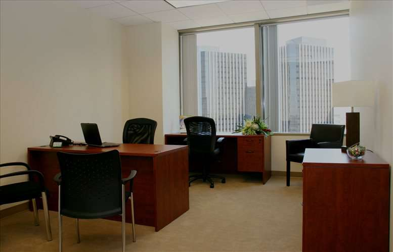 This is a photo of the office space available to rent on SunAmerica Center, 1999 Avenue of The Stars, Suite 1100
