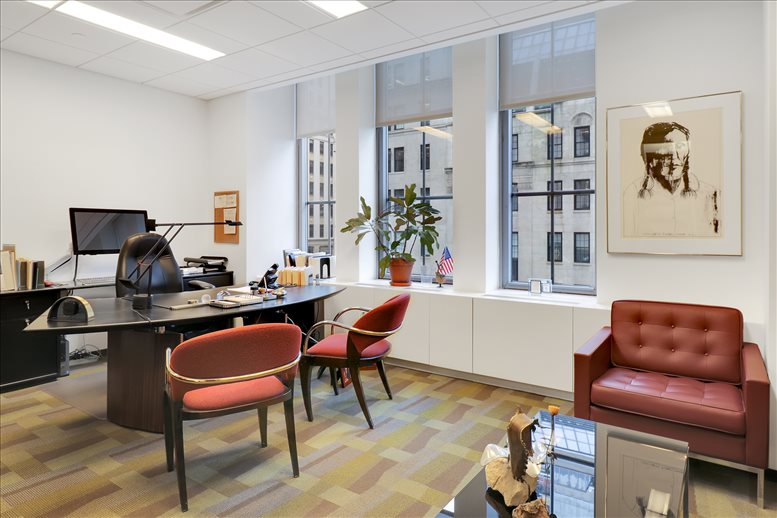 Photo of Office Space available to rent on 745 Fifth Avenue, Plaza District, Manhattan