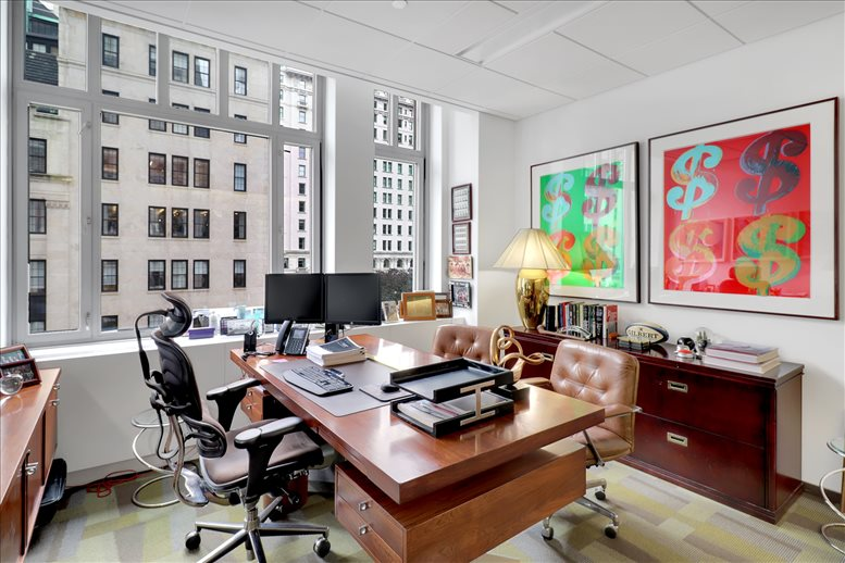 This is a photo of the office space available to rent on 745 5th Ave, Plaza District, Midtown