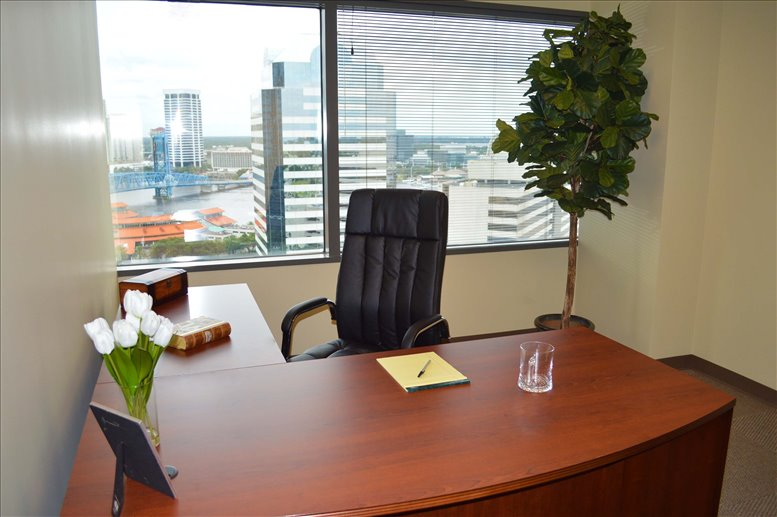 This is a photo of the office space available to rent on EverBank Center, 301 W Bay St, 14th Fl, Downtown