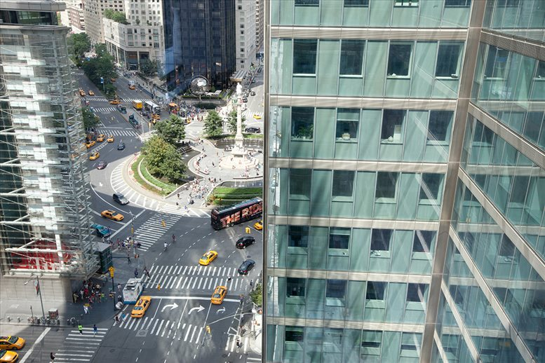 3 Columbus Circle, 15th Fl, Manhattan Office for Rent in NYC